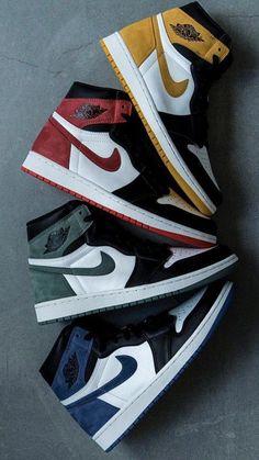 buy online 4e8c3 58745 Colorful Jordans    nike  Sneakers Sneakers Mode, Mode Tips, Herrmode,  Lagerbyggnad