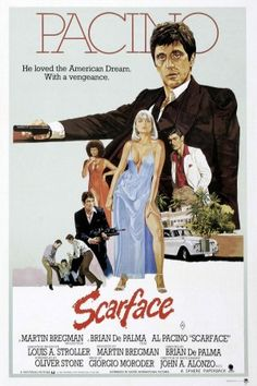 US poster for Scarface