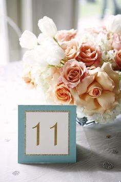peach ivory #turquoise #wedding #ideas nice #weddingtheme