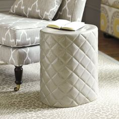 Quilted Garden Stool