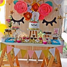 So much color!!  Take a look at this gorgeous Unicorn birthday party! View all 9 party photos from @lasmatheeventosdulces by clicking our profile link. ⠀⠀ ⠀⠀⠀⠀⠀⠀⠀⠀⠀⠀ #catchmyparty #partyideas #birthday #hbd #happybirthday #birthdaygirl #unicornparty #unicornio #festas #follow #birthdaygirl #cumpleanos #unicornpartyideas #amblifeissweet #flashesofdelight #cumpleanosfeliz #sweets #unicorn #partyplanning #partyinspiration #unicornio #FestaUnicornio #partystyle #twitter #iloveunicor...