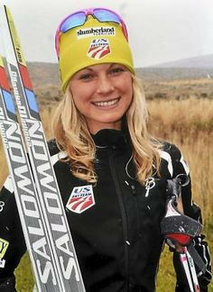 Jessie Diggins of Afton. Cross country skiing.