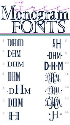 Best printable Monogram maker. Free Online! | Free Printables ...