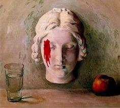 René Magritte, La mémoire, 1948 on ArtStack #rene-magritte #art