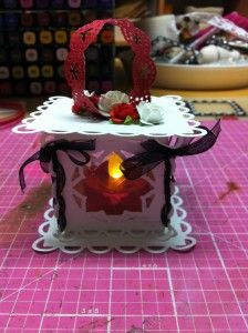 Check out this fabulous tutorial on making this beautiful lantern.