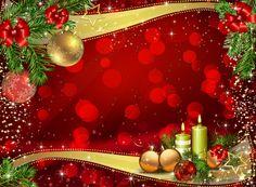 "Photo from album ""Новогодние фоны"" on Yandex. Merry Christmas Pictures, Christmas Frames, Christmas Scenes, Christmas Art, Vintage Christmas, Christmas Holidays, Christmas Decorations, Red Christmas Background, Christmas Wallpaper"