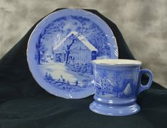 Currier and Ives The Old Homestead In Winter plate by TreasuryShop