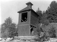 Nine O'clock Gun in Stanley Park   VPL Accession Number: 6233A  Date: 1932  Photographer / Studio: Frank, Leonard