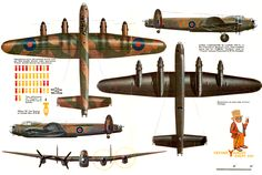 Avro Lancaster I Ww2 Aircraft, Military Aircraft, Ala Delta, Lancaster Bomber, Plane Drawing, Aircraft Painting, Ww2 Planes, Military Equipment, Nose Art