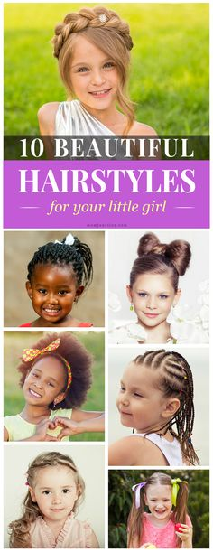 10 Beautiful #Hairstyles For Your Little Girl:Here are some brilliant hairstyles for your little fashionistas at home. You can check them out below.