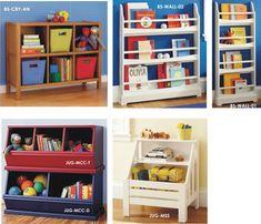 Libreros jugueteros de OOH lala!