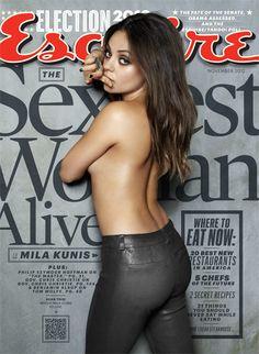 Mila Kunis / Esquire