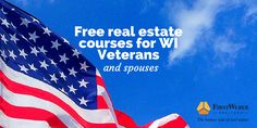 Free real estate courses for Wisconsin veterans