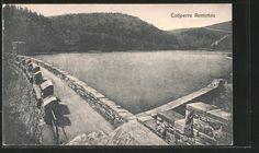 old postcard: AK Komotau / Chomutov, Ansicht der Talsperre
