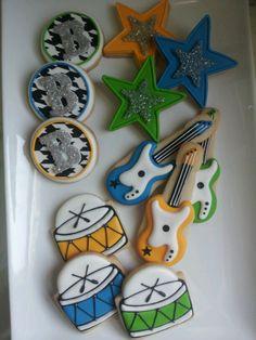 Rock star cookies