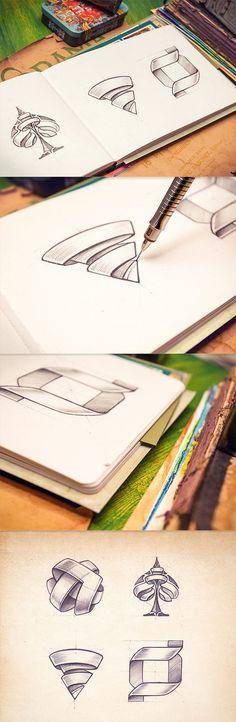 Sketchbook de Mike, a través de Behance