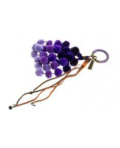 Mimi Key Chain Roxo