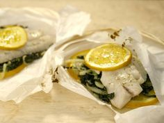 Fennel Snapper in Parchment {Giada in Italy}
