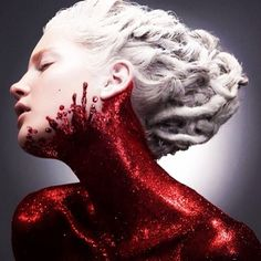 excellent blood and glitter