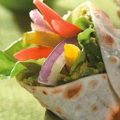 Fajitas Vegetarianas, Fresh Rolls, Guacamole, Mexican, Cooking, Ethnic Recipes, Food, Juices, Vegetables