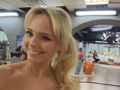 """Agnieszka Jastrzębska w """"Dzieńdobry TVN """" :-) Tv, Jewelry, Jewlery, Jewerly, Television Set, Schmuck, Jewels, Jewelery, Fine Jewelry"""