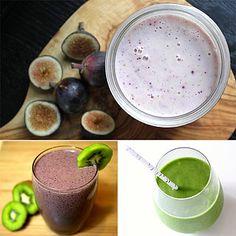 High-Fiber Smoothie Recipes Smoothie Drinks, Healthy Smoothies, Healthy Drinks, Smoothie Recipes, Healthy Foods, High Fiber Smoothie Recipe, Yummy Snacks, Yummy Food, Tasty