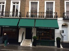 Beautifully made new canopies for San Lorenzo by Deans Blinds & Awnings