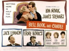Kim Novak & James Stewart in Bell Book and Candle