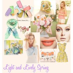 """Light and Lively Spring"" by looksmagic on Polyvore"