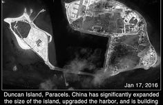 Satellite Images: China Manufactures Land at New Sites in the Paracel Islands | The Diplomat