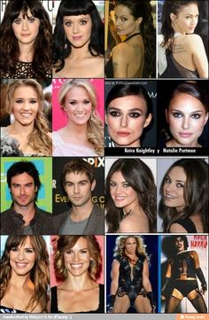 Celebrity look a likes