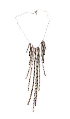 Brass Chain, Tassel Necklace, Handmade, Shopping, Collection, Jewelry, Fashion, Moda, Hand Made