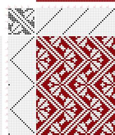 draft image: Classical Collection Classical Collection compiled by Ralph Griswold, Weaving Designs, Weaving Projects, Weaving Patterns, Quilt Patterns Free, Knitting Designs, Knitting Patterns, Inkle Weaving, Inkle Loom, Hand Weaving