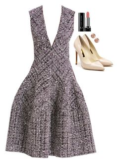 Donna Paulsen Inspired Outfit by daniellakresovic on Polyvore featuring polyvore fashion style Rupert Sanderson Argento Vivo Marc Jacobs J. Mendel clothing
