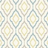 I would love to do my laundry room in this wallpaper. Found it at Wayfair - Candice Olson Inspired Elegance Diva Geometric Wallpaper