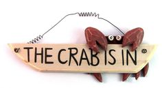 Sure to crab up any beach house.