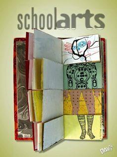 Azul Turquesa Bitácora de Teresa: Proyecto de 4º: mi libro de artista.