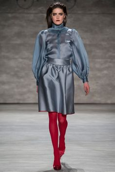 Blue and Red. Ruffian   Fall 2014 Ready-to-Wear Collection   Style.com