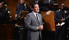 Jimmy Fallon.  Getting on the Tonight Show