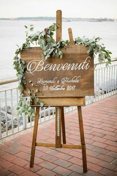Wooden Wedding Welcome Sign with Names and Date Rustic Wedding Welcome Signage Wood Wedding Welcome Signs Wedding Decor - Rustic Wedding Signs, Wedding Welcome Signs, Wedding Signage, Rustic Signs, Wedding Reception Signs, Welcome Party, Rustic Wedding Details, Wedding Sparklers, Marquee Wedding