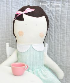 Skirting the Issue: A Doll Pattern - Simple Simon and Company