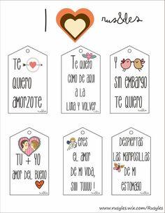 etiquetas descargables , GRATIS!! ( free free :-)) , no solo para San Valentin, sino para cualquier día que quieras sorprender a tu personita especial.: