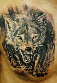 Un tatouage de Loup 18