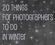 20 things to do in winter