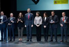 King Felipe and Queen Letizia presented Innovation and Design Awards