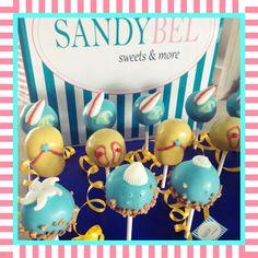 Surfen, Strand, FlipFlops....einfach Sommerurlaub ☀️ #cakepops by #sandybel #sommer