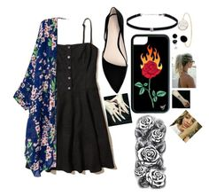 """tat gal"" by danifashionblog on Polyvore featuring Hollister Co., MANGO and Carbon & Hyde"