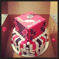 Harley Quinn cake by Life is Sweet - https://www.facebook.com/LifeisSweetBG