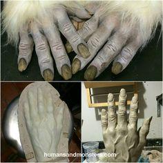 """Modelado en barro para prostético en foam latex. #Yeti #Dummy #HumansAndMonsters #CesarPerlop #Comercial @cheche_arg"""