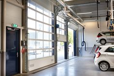 The Compact Industrial Door - Pictures